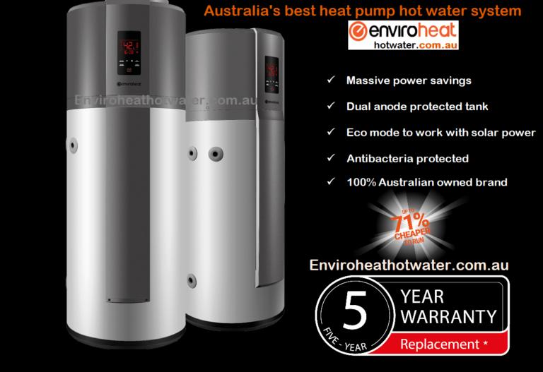 Envirosheat heat pump hot water systems New South Wales