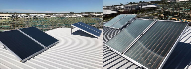 Builders supply of Envirosun solar hot water systems