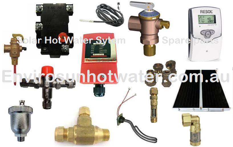 Solar hot water system Spare parts Envirosun solar hot water